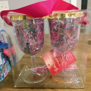 Lilly Pulitzer gumbo limbo cups